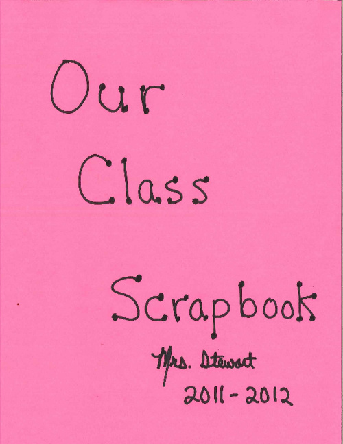 Our Class Scrapbook