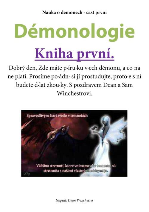 Demonologie - Kniha první - Knížka