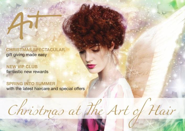 The Art of Hair Christmas Magazine