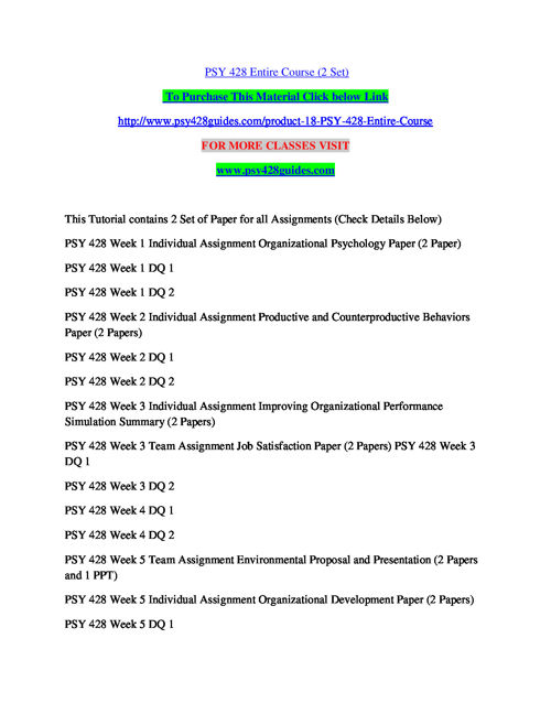 job satisfaction paper summary
