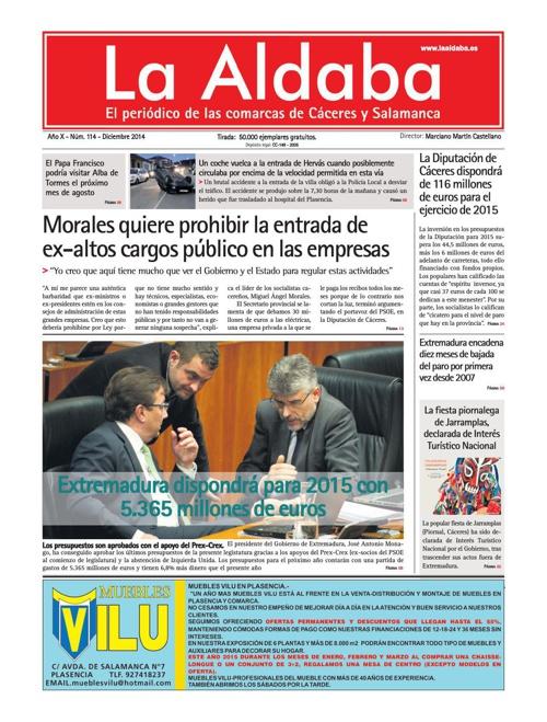 La Aldaba Diciembre 2014