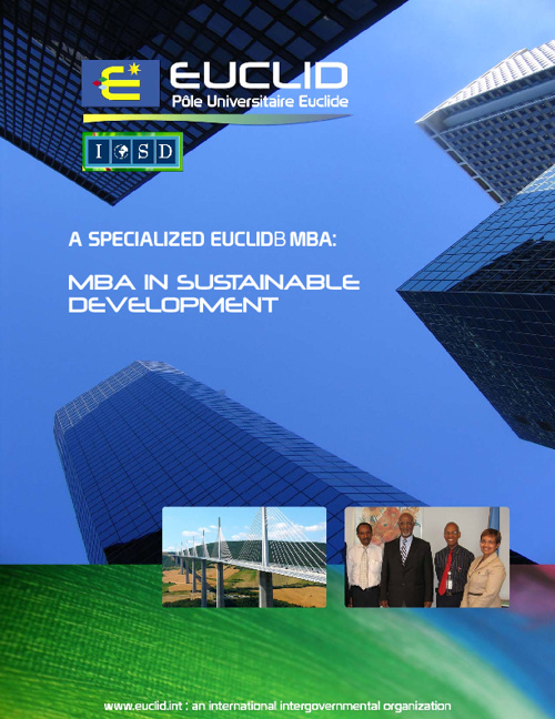 EUCLID MBA in Sustainable Development Brochure
