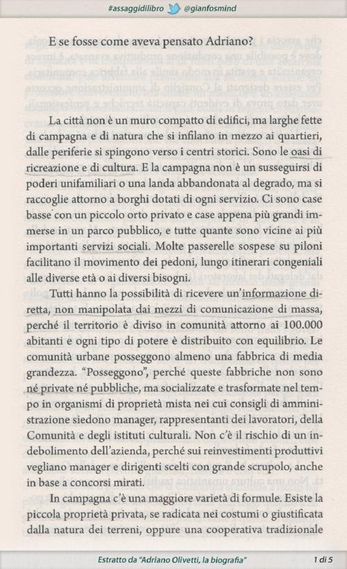 il Paese utopico di Olivetti