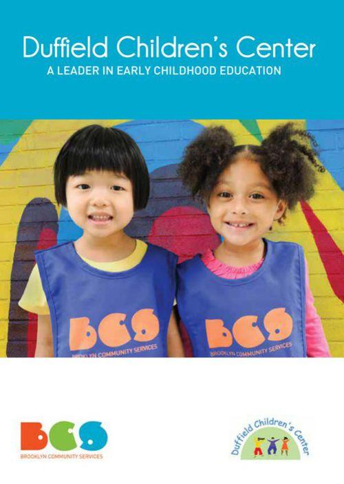 BCS Duffield Children's Center Brochure