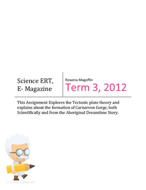 Mother Earth, E-Magazine
