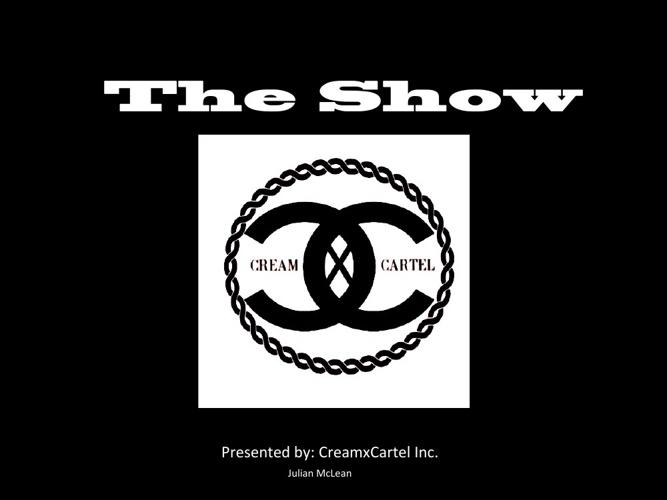 """CreamxCarte """"The Show"""""""
