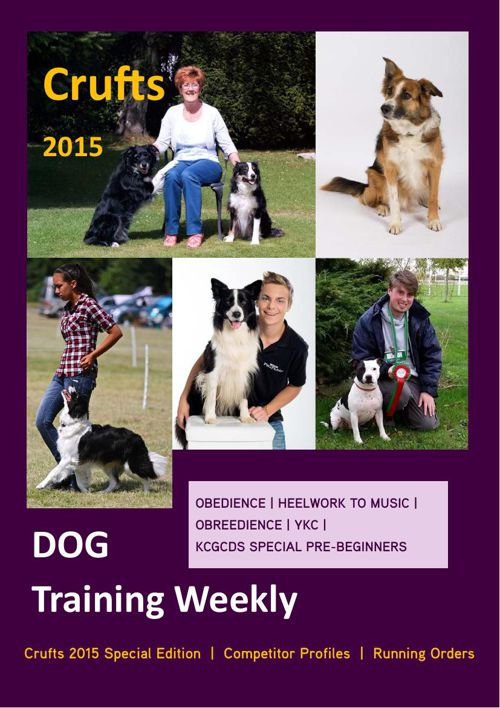 DOG Training Weekly Crufts Special 2015