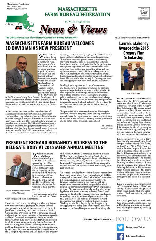 December 2015 News & Views
