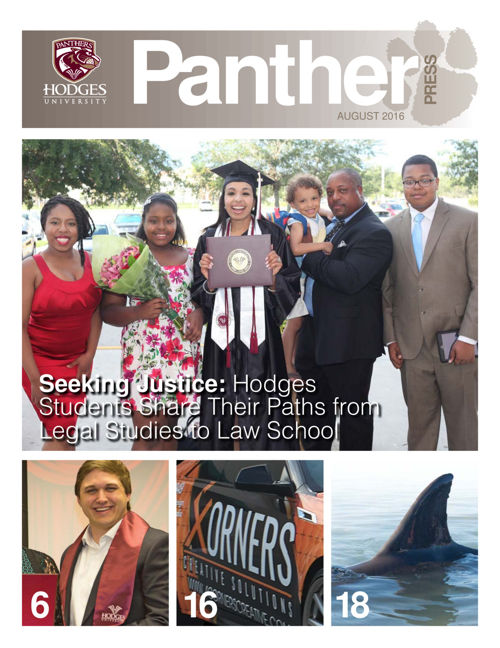 August 2016 Panther Press