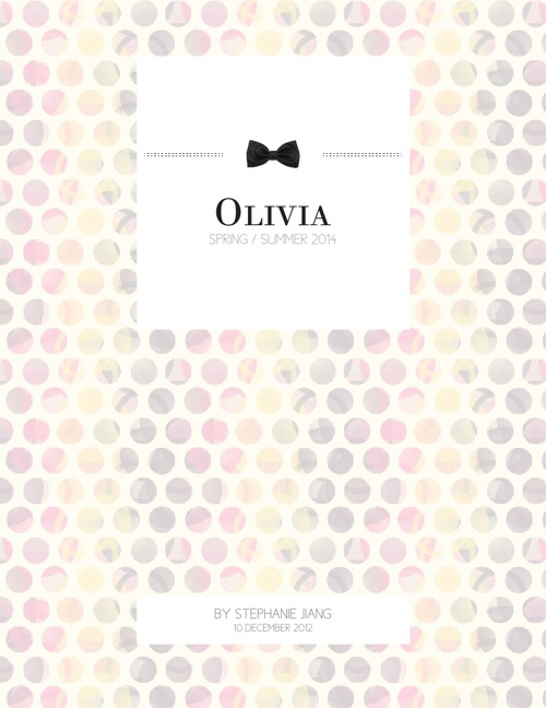 Olivia Spring/Summer 2014