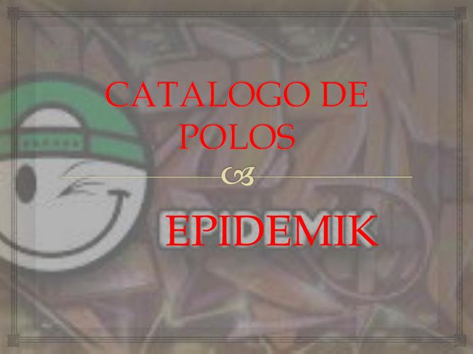CATALOGO DE POLOS EPI JB