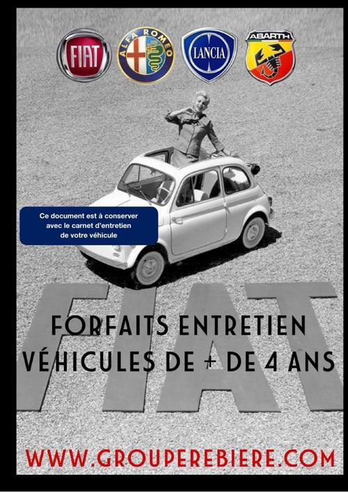 Forfait Entretien FIAT