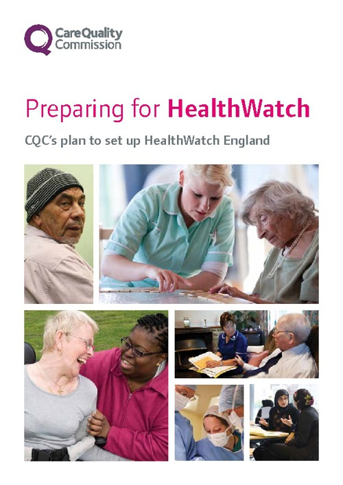 CQC Preparing for HealthWatch