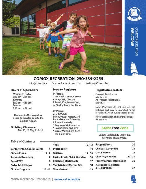 Spring 2016 Rec Guide