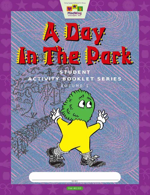 """A Day in The Park"" Activity Book"