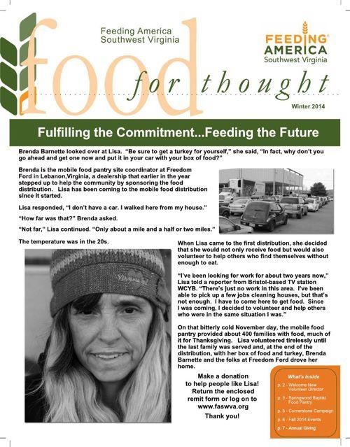 FASWVA 2014 Winter Newsletter