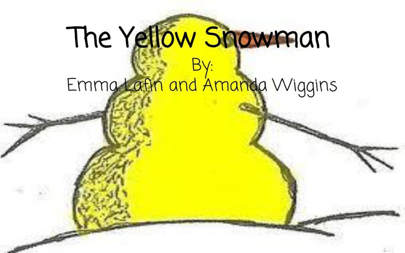 Children's Book_The Yellow Snowman
