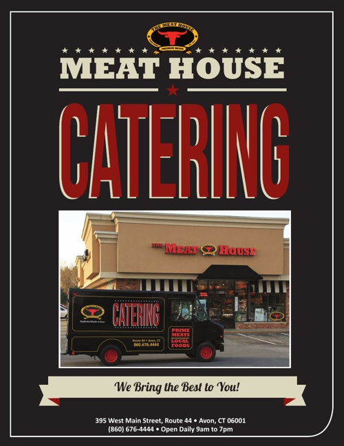 The Meat House in Avon's Catering Menu