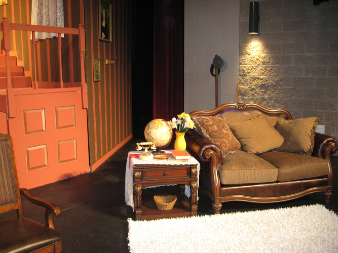 AHS Masquers 2013 Spring Production - Arsenic and Old Lace Set
