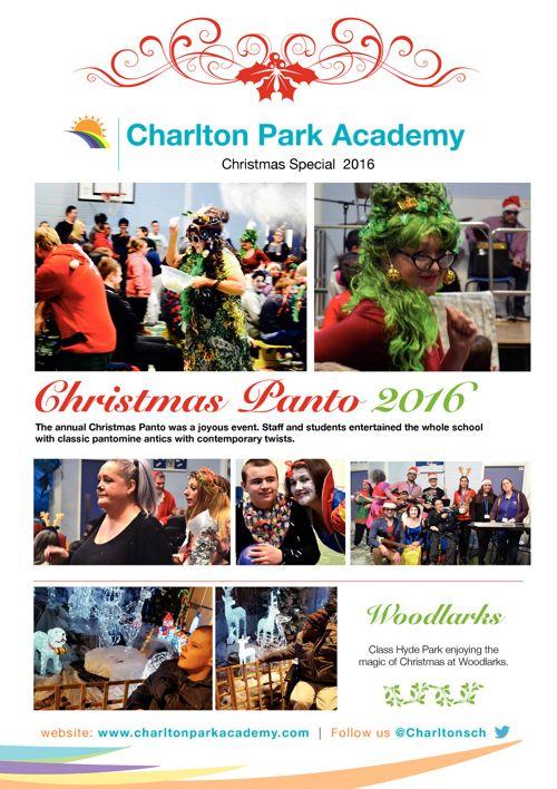 Charlton Park Academy Christmas Newsletter 2016