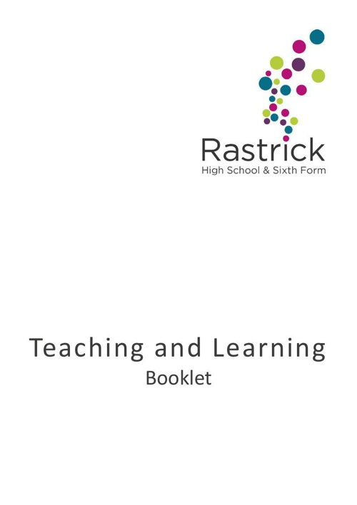 Teaching and Learning Booklet Nov 2014