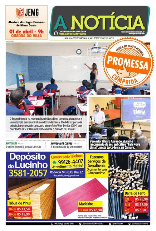 Jornal A Notícia - Edição 280
