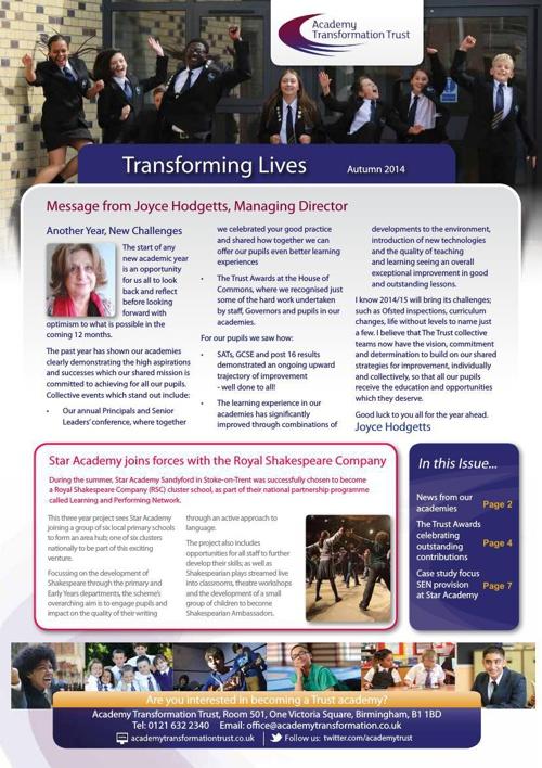 Trust Newsletter Autumn 2014