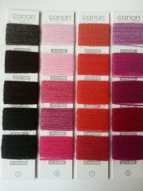Canan tekstil Vezüv kartelası