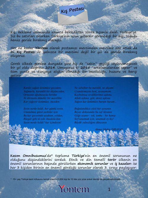 Yöntem Kış Postası 2014-2015