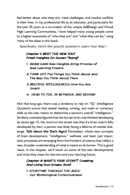 Learn Your Way! Excerpt