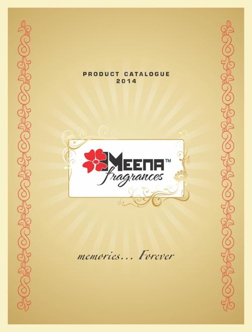 Meena Fragrances - Product Catalogue 2014