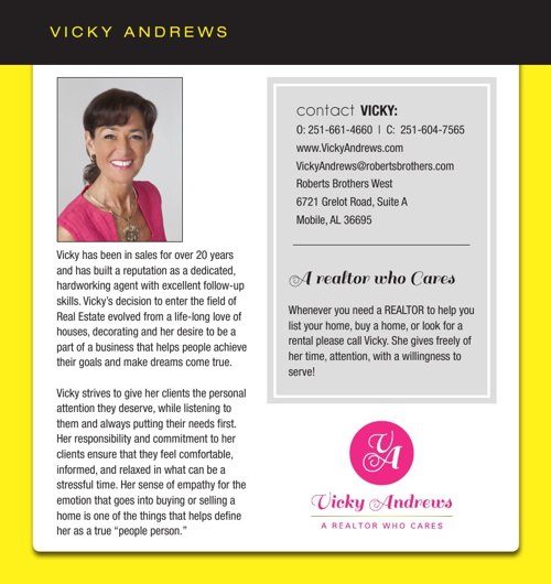 VickyAndews_2013 Brochure