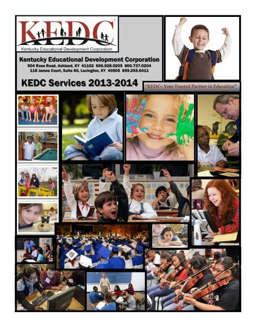 KEDC Services Booklet 2013-2014