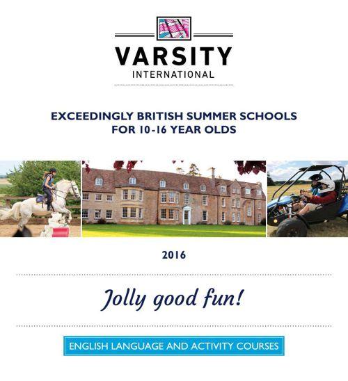 Varsity International 2016 brochure