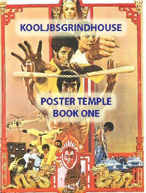 KOOLJBSGRINDHOUSE POSTER TEMPLE  BOOK 1