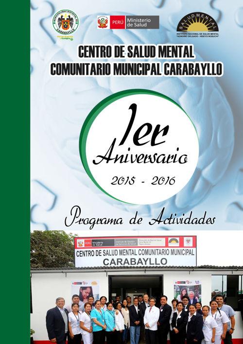 ACTIVIDADES ANIVERSARIO DEL CSMCM CARABAYLLO