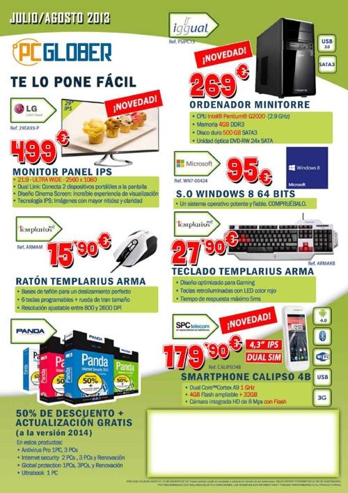 Catalogo Julio-Agosto PC Glober