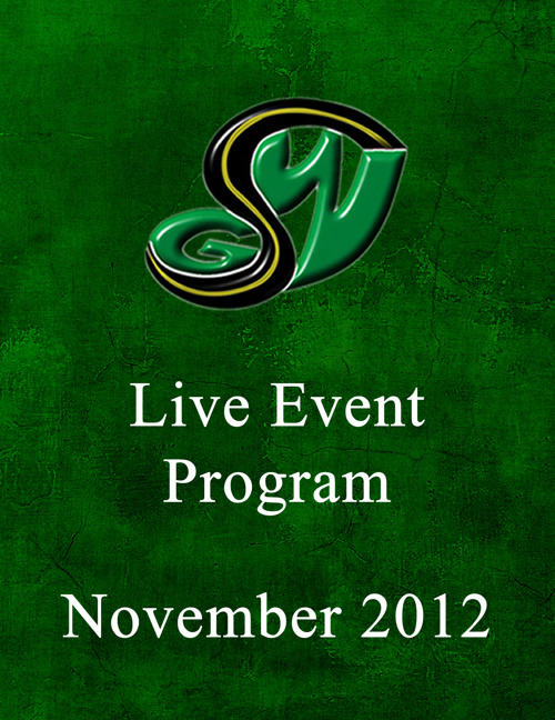 GSW Breakthrough: iPPV event program 11/10/12