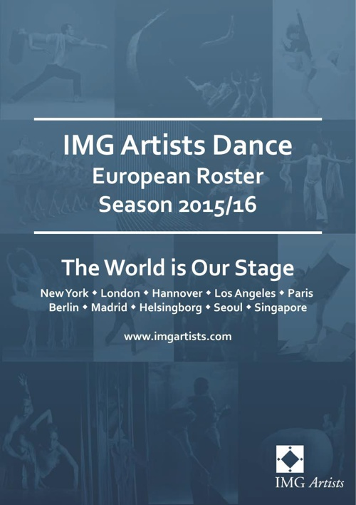 IMG Artists - European Dance Roster for Season 2015/16