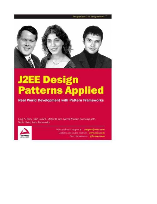 j2ee-design-patterns-applied