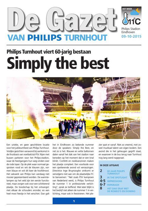 Philips Partykrant - 60 jaar