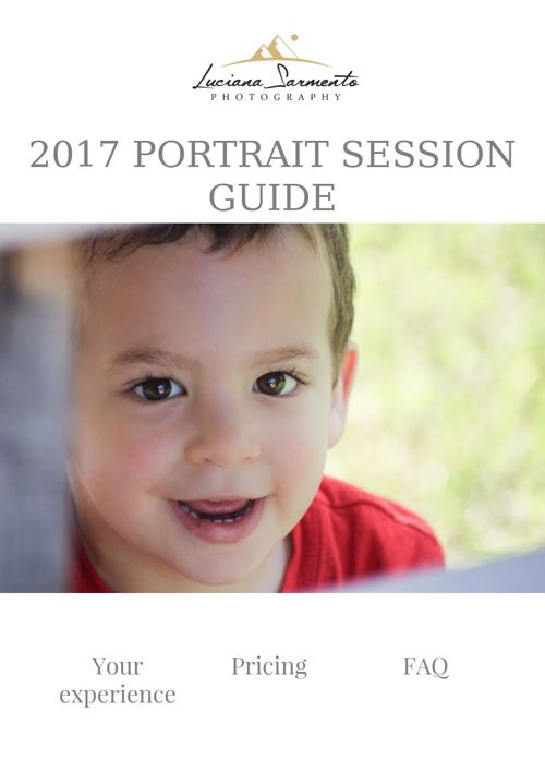 Luciana Sarmento Photography Portrait Session Guide
