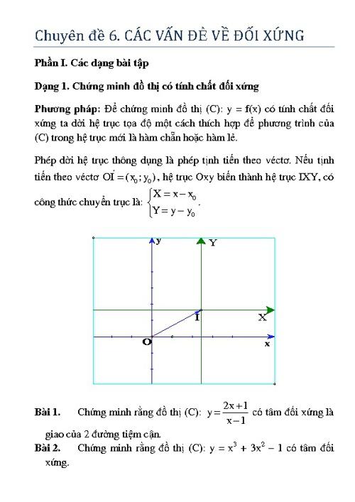 CĐ6. Các vấn đề đối xứng
