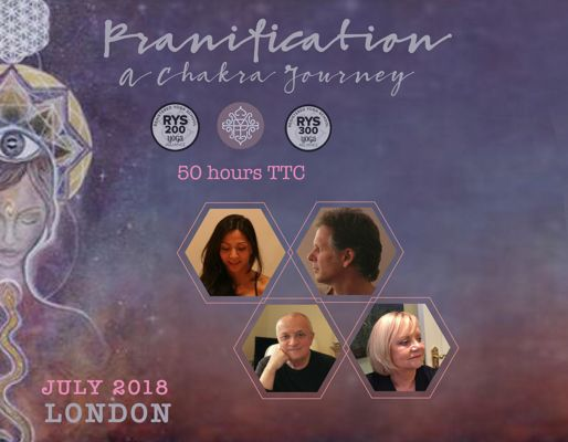Pranification: A Chakra Journey- 50 hrs TTC