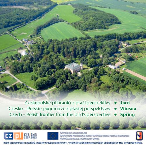 Českopolské příhraničí z ptačí perspektivy - Jaro