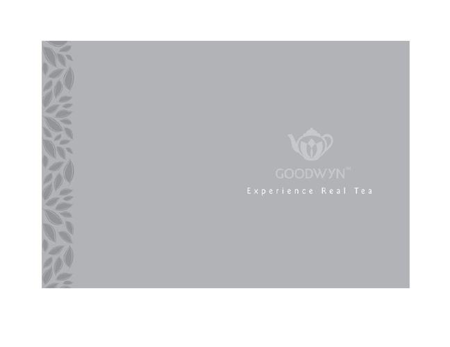 Goodwyn Tea Catalogue