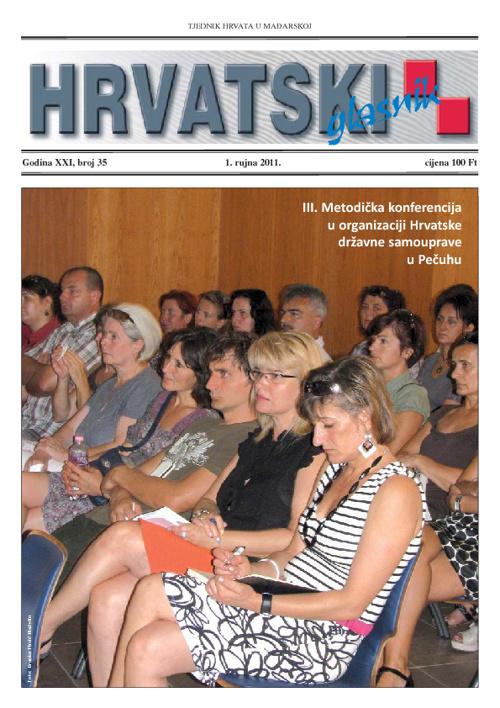 Hrvatski Glasnik 1. rujna 2011.