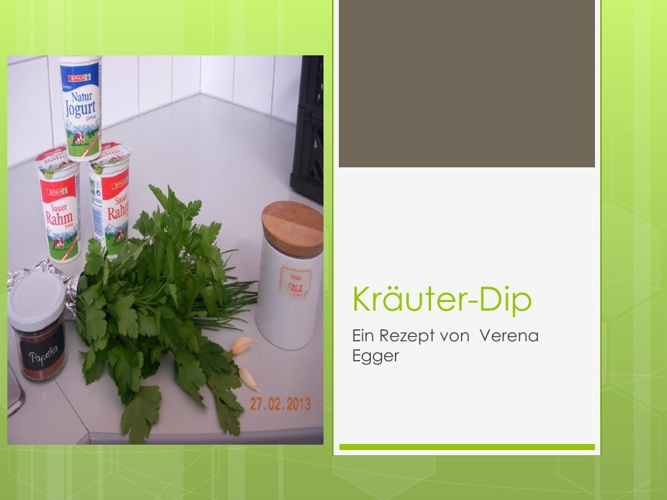 Kräuter-Dip