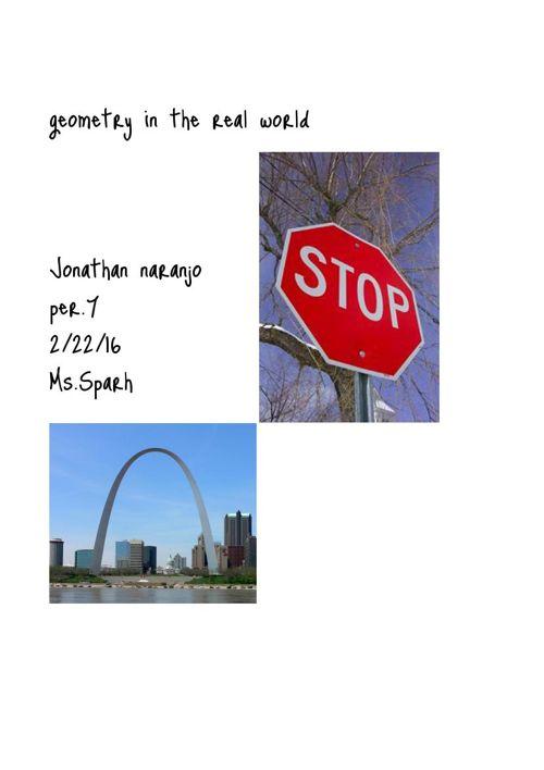Geometry Vocabulary Project