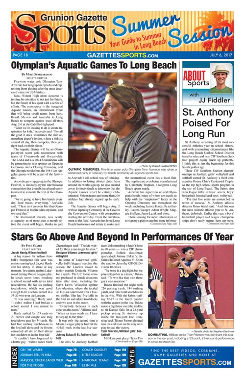Gazette Sports  |  July 6, 2017